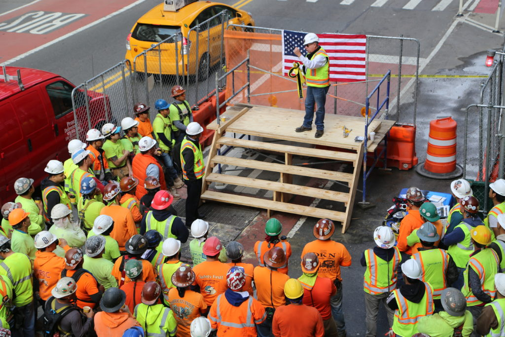 2019 National OSHA Fall Prevention in Construction Stand Down